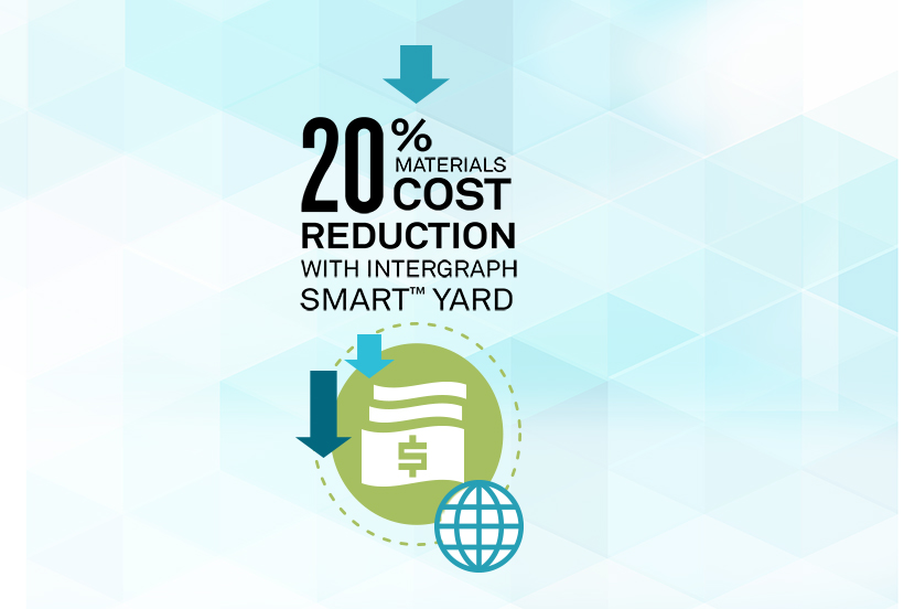 20% materials cost reduction with Intergraph Smart Yard